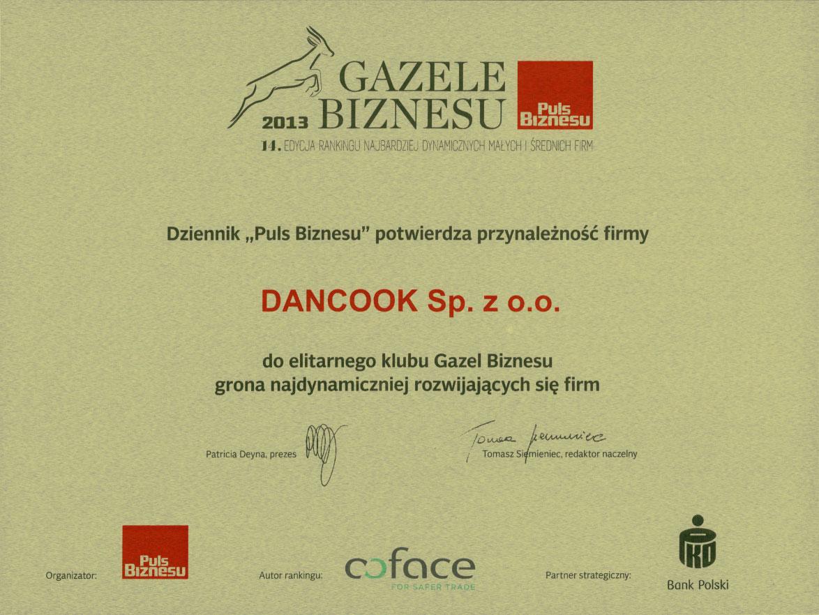 Gazela Biznesu 2013