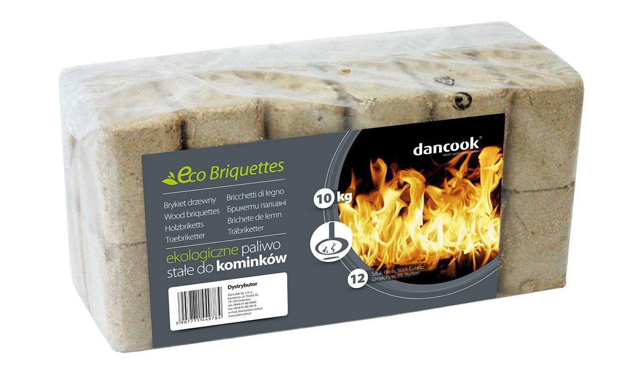 Eco wood briquettes