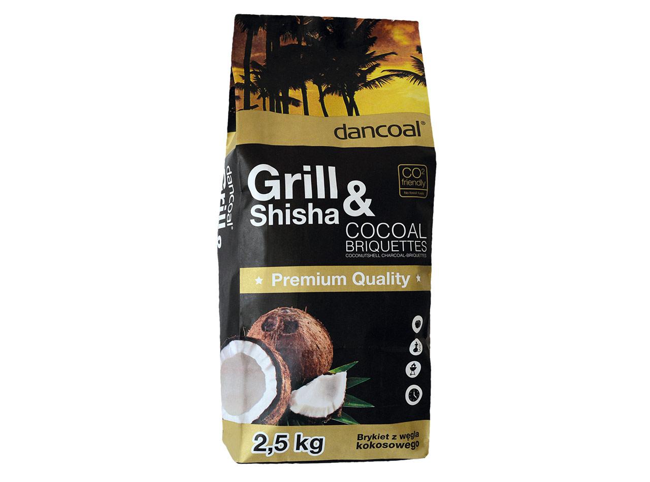 Coconutshell Charcoal ECO Briquettes