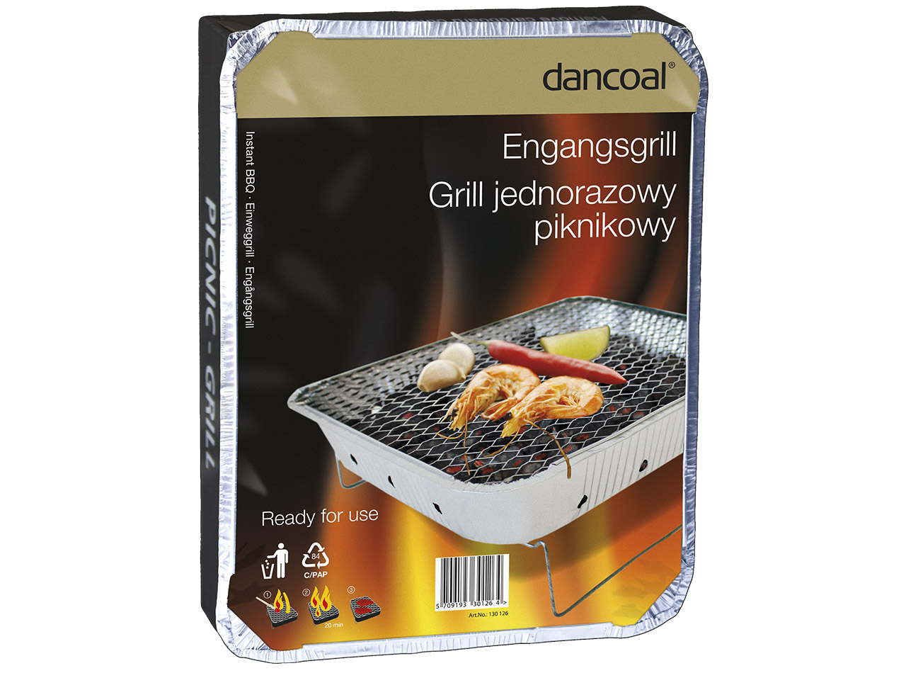 Einweggrill - Dancoal