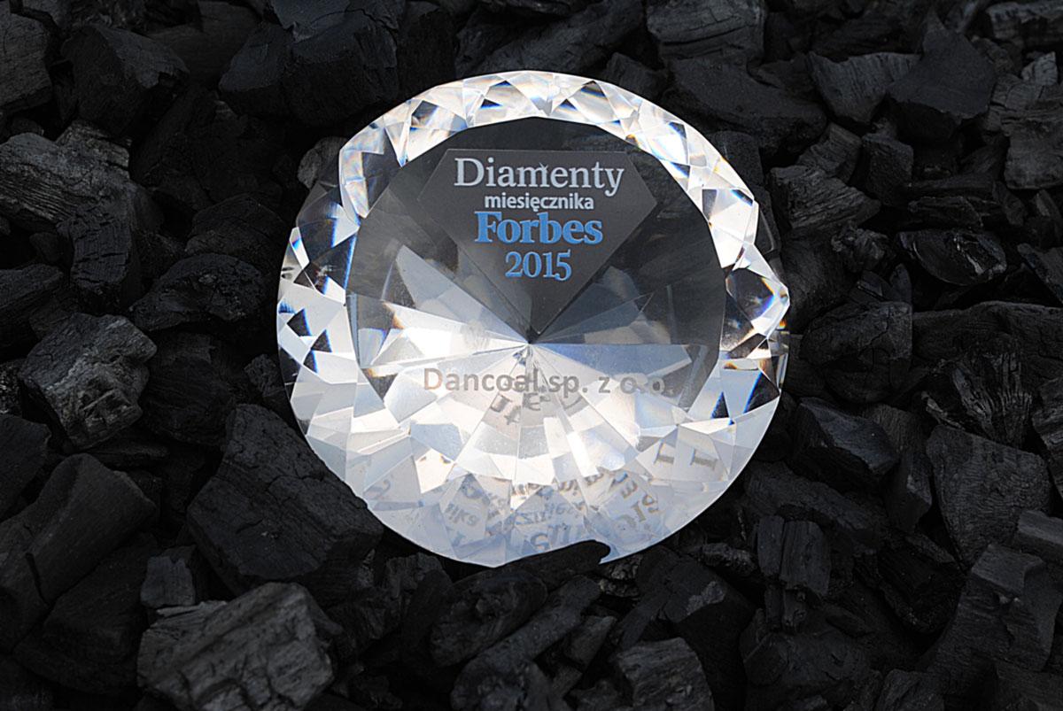 Dancoal - DIAMENT miesięcznika FORBES 2015