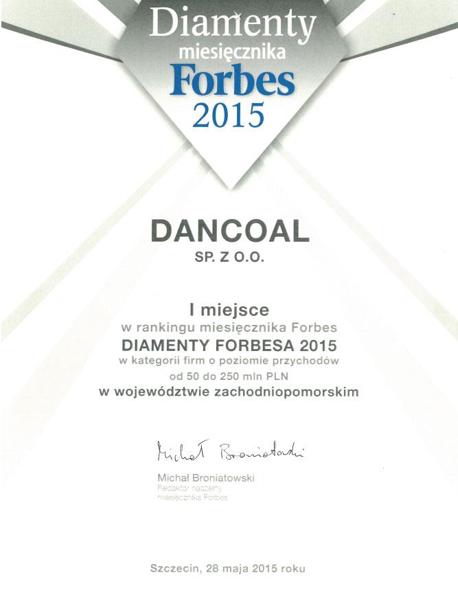 DIAMENTY miesięcznika FORBES 2015