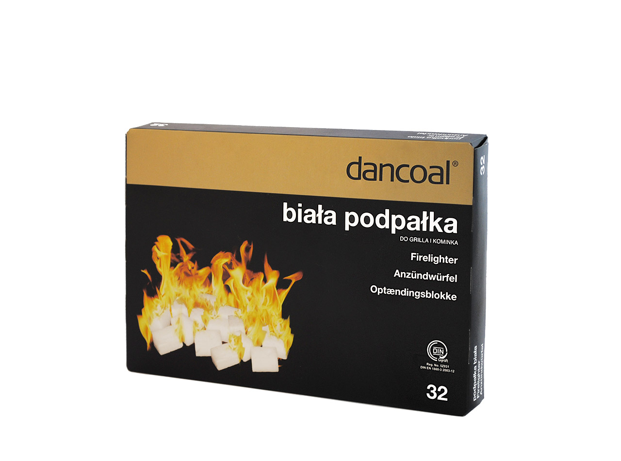 Dancoal - White firelighter 32 pcs.
