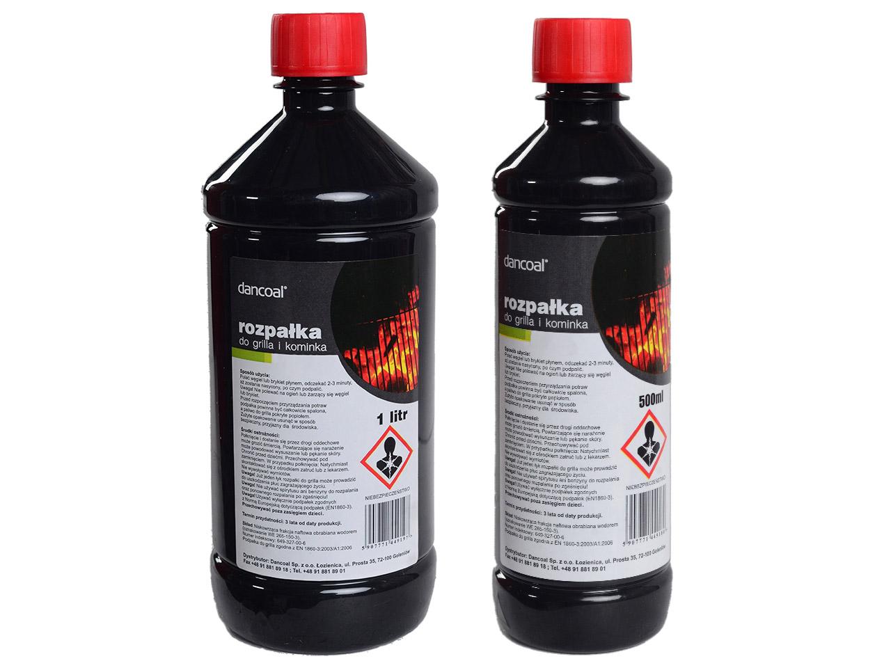 Liquid firelighters